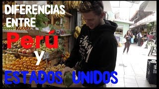 DIFERENCIAS  ENTRE PERU Y USA | LES MUESTRO COMO ERA MI VIDA EN PERU :)
