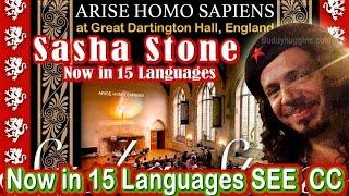 Sacha Stone: Arise Homo Sapiens - Now in 15 Languages