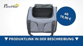 PawHut Hundetasche Auto Hundebox Transportbox Tragetasche Autositz Katze - direkt kaufen!