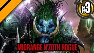 Day[9]'s HearthStone Decktacular #227 - Midrange N'Zoth Rogue P3