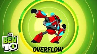 Ben 10 | Aliens in Action: OVERFLOW! | Cartoon Network