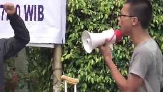 Demo Mahasiswa Protes Kenaikan Harga BBM Subsidi