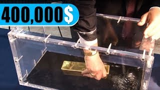 If You Can Pull This Gold Bar Out, It's Yours. Ingenious and Creative Advertising Campaigns