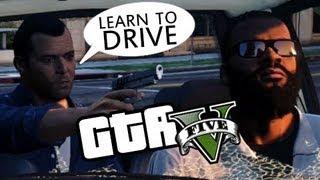 Franklin Can't DRIVE - GTA 5 Glitch?