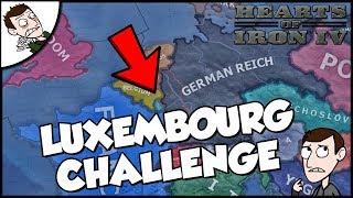 Hearts of Iron 4 HOI4 Democratic Luxembourg Challenge