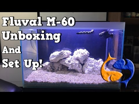 Fluval M-60 Complete Reef System Unboxing/Set Up Part 2