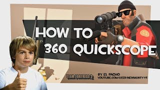 TF2: How to 360 quickscope [MLG]