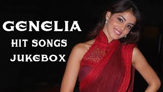 South Indian Actress Genelia D'Souza Hit Songs || Jukebox || Birthday Special