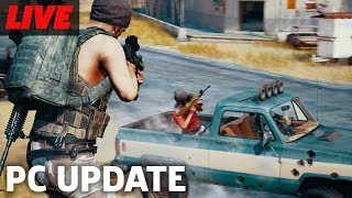 PUBG with the Update on PC