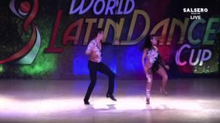 Ricardo Ramos & Denise Alexandra Perez, Mexico, Salsa on 1Man Lead Couple, Final Round, WLDC 2015