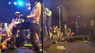 Black Veil Brides - The Outsider live at the Roxy Theatre in W. Hollywood 10/20/2018