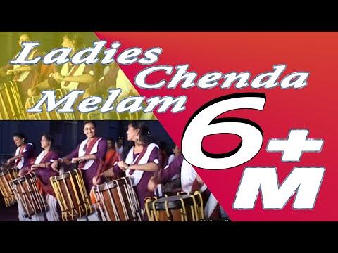 Ladies Performing Chenda Melam in RAK