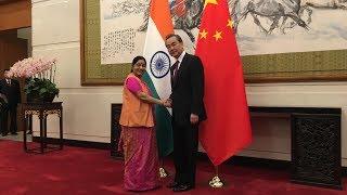 Chinese FM Wang Yi meets Indian counterpart in Beijing
