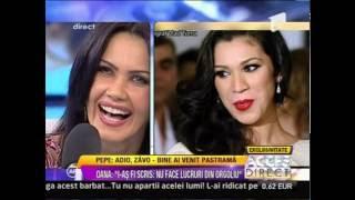 """Oana Zăvoranu- """"Pepe va fi întotdeauna frumos pentru mine"""" (Acces Direct- Antena 1) HD"""