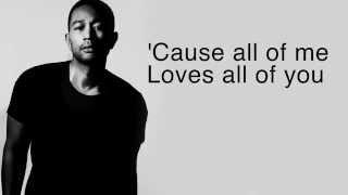 All Of Me - John Legend (LYRICS + HQ AUDIO)
