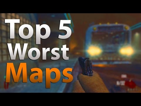 TOP 5 Worst Zombie Maps of All Time - \