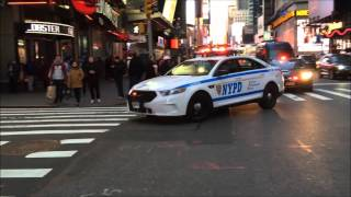 COMPILATION OF THE ELITE NYPD HERCULES SQUAD PATROLLING AROUND THE STREETS OF NEW YORK CITY.  04
