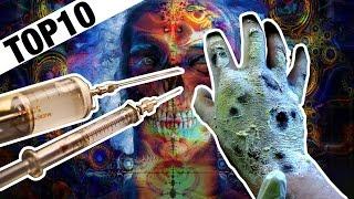 Top10  nejhorších a nejděsivějších drog (Varování - nechutné)