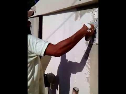 grafiado instalacion en paredes venezuela