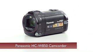 Panasonic HC-W850 Camcorder