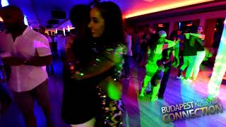 Bonifácio Aurio & Paula  Social Dancing at BUDAPEST KIZOMBA CONNECTION 7th edition 2017
