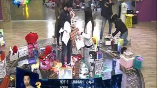 وصول هدايا للطلاب من الفانز 27/01/2016 ستار اكاديمي 11