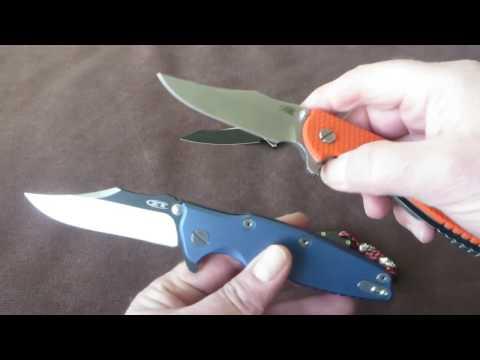 Hinderer XM18 vs. ZT 0392 & Giveaway / Groupbuy WE617 Updates