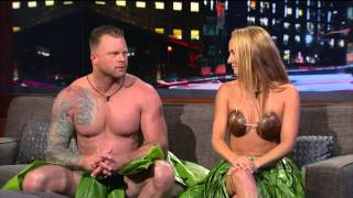 Naked and Afraid's Alison Teal on Arsenio Hall