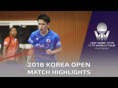 Xxx Mp4 Yuya Oshima Vs Ro Kwang Jin 2018 Korea Open Highlights Group 3gp Sex