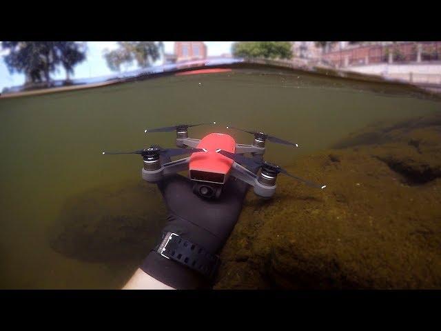 Found Drone Underwater in River While Scuba Diving! (w/ Girlfriend) | DALLMYD