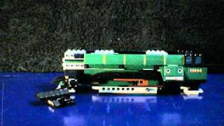 Lego stop motion 10194 emerald night smaragd express in 3 minutes