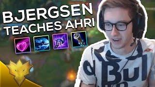 TSM Bjergsen Informative AHRI! - Bjergsen Stream Highlights & Funny Moments