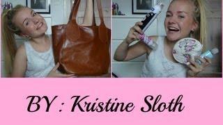 Hvad har Kristine i sin taske? 2013!!