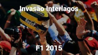 Invasão setor A Formula 1 2015