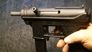 Intratec AB-10 9mm Review & shooting.