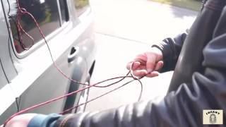 How To Unlock A Car With A String |  Very Easy Method That Really Works