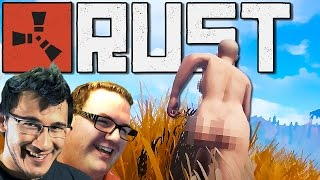 VERY EXTREMELY NAKED... | Rust Gameplay #11