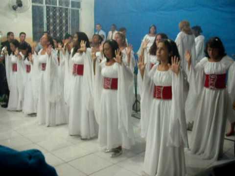 coreografia evangelica expressão de adoração