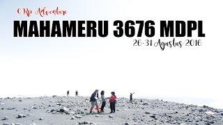 TRAVEL VLOG #8 : ASLI SEREM!! Pendakian Gunung Semeru 3676 mdpl - 26-31 Agustus 2016