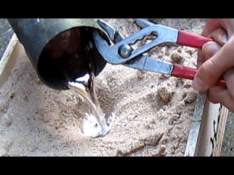 Homemade Brass Knuckles Cast Aluminum