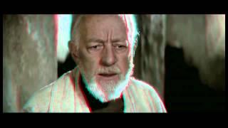 Star Wars Episode III Trailer 3D Anaglyph Red/Cyan