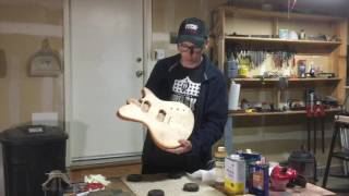 A Simple Oil Finish For Your Guitar