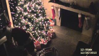 Santa Claus caught on video! REAL proof he exists!!!