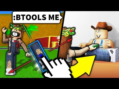 I used Roblox admin to STEAL noob s ARMS LEGS and SOLD IT BACK TO THEM