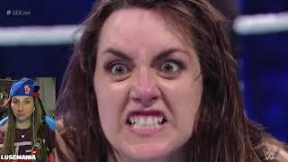 WWE Smackdown 11/6/18 Becky Lynch vs Nikki Cross