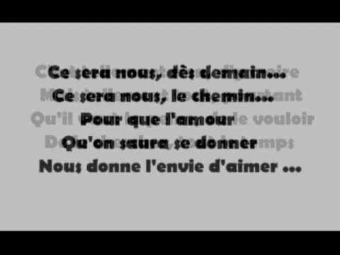 L'envie d'aimer-Daniel Levi avec paroles