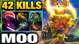 Moo Monkey King with 42 Kills WICKED SICK Dota 2