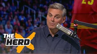 The Golden State Warriors are showing why LeBron James should be the MVP | THE HERD
