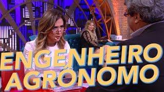 Engenheiro Agrônomo - Entrevista Com Especialista - Tatá Werneck - Lady Night - Humor Multishow