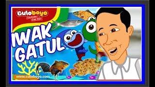 Iwak Gatul Culoboyo Ikut Kuis Sepeda Feat. Presiden Jokowi | Kartun Lucu Culoboyo